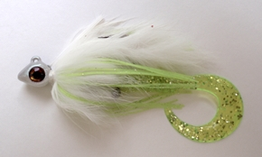white swim jig, buggs lures