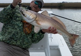mike bishop, redfish, bugg
