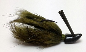 green pumpkin bass jig, best bass jig