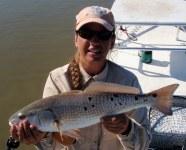 kaylin barlow, redfish spots