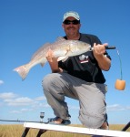 thomas barlow, big redfish