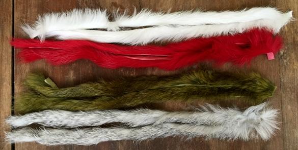 variant rabbit strips, tying buggs