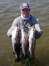 speckled trout, curl tail jig