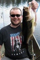 jake warren, largemouth bass