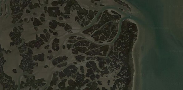 Google Earth - Marsh Fishing