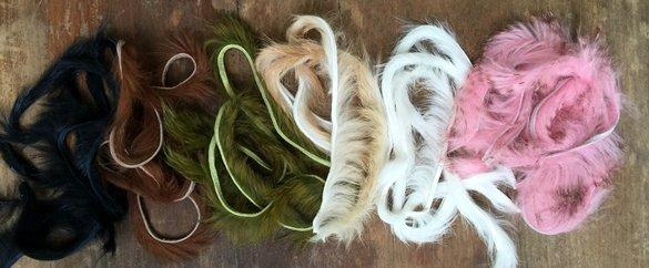 micro rabbit strips, tying materials