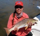 kaylin barlow, big redfish