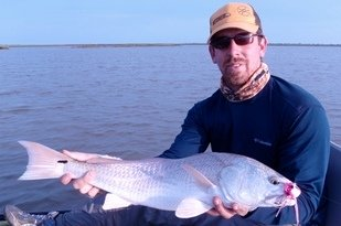 sonny mills, hydra bugg, redfish